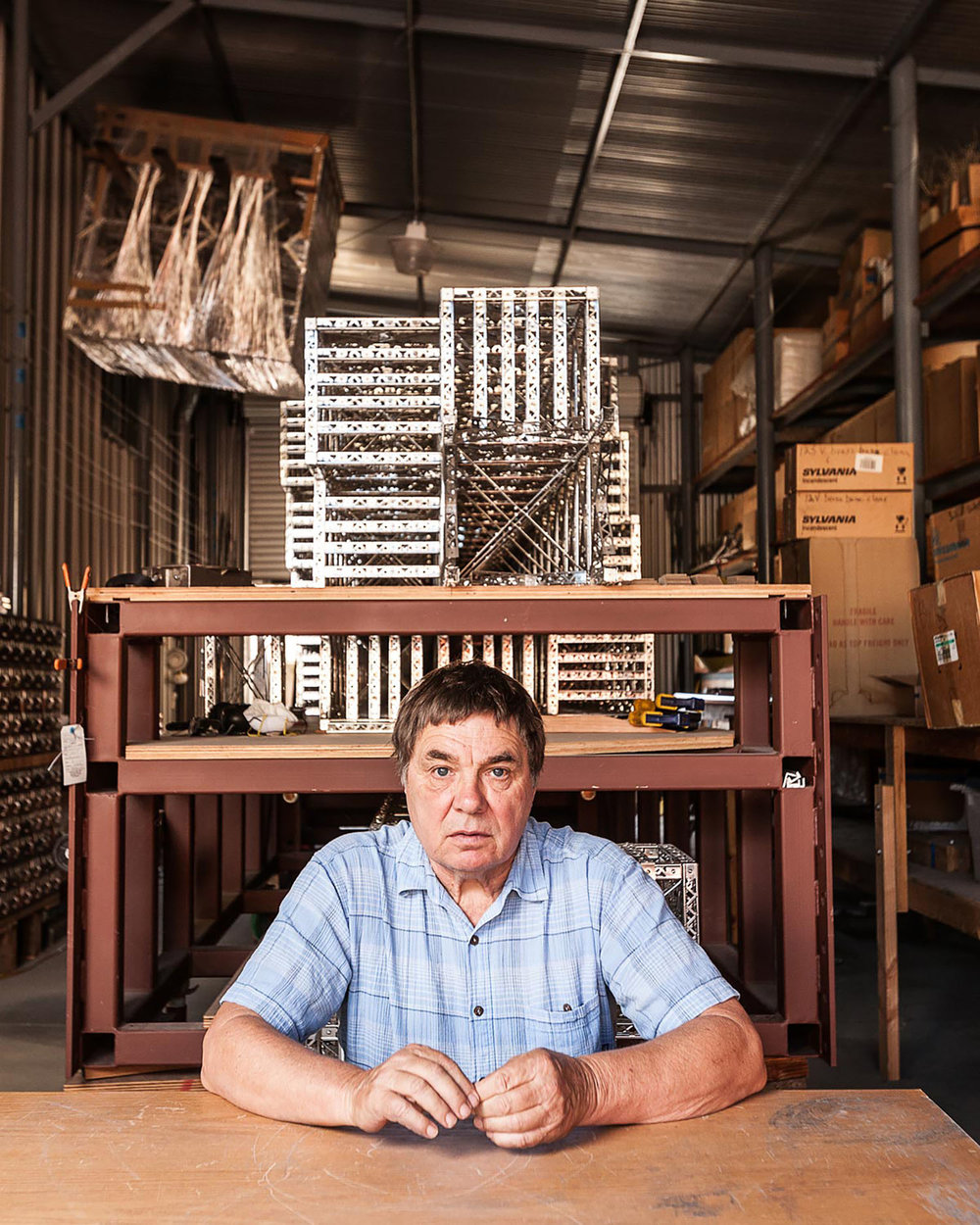 Chris Burden, Artist, Topanga Canyon, California, 2015