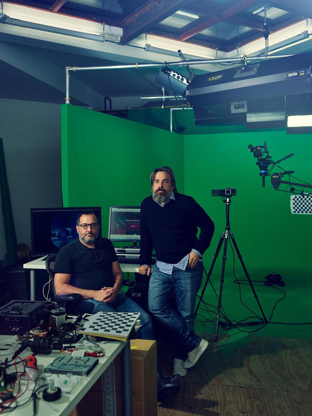 Neville Spiteri & Anthony Batt, Co-Founders of Wevr, Venice, California, 2016