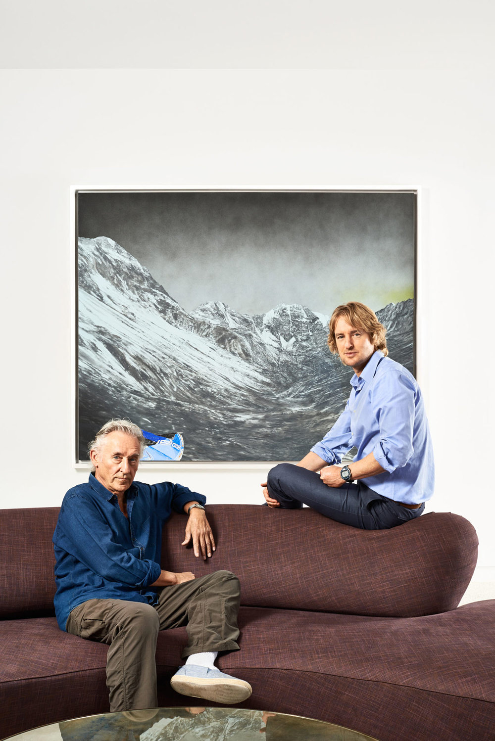 Ed Ruscha, Artist & Owen Wilson, Actor, Los Angles, California, 2013