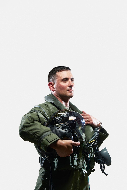 Joseph Stenger, F-35 Pilot, Luke Air Force Base, Arizona, 2015