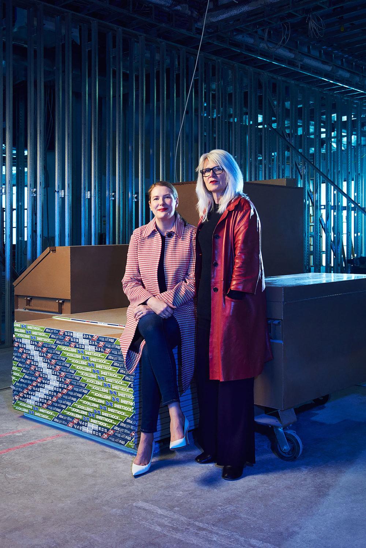 Philomene Magers & Monika Sprueth, Gallerists, Los Angeles, California, 2015