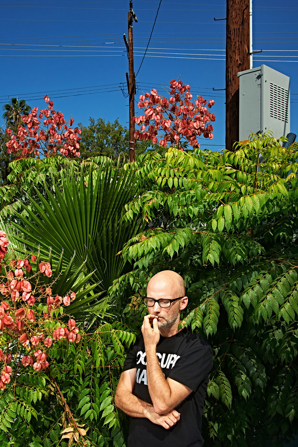 Moby, Musician, Los Angeles, California, 2015
