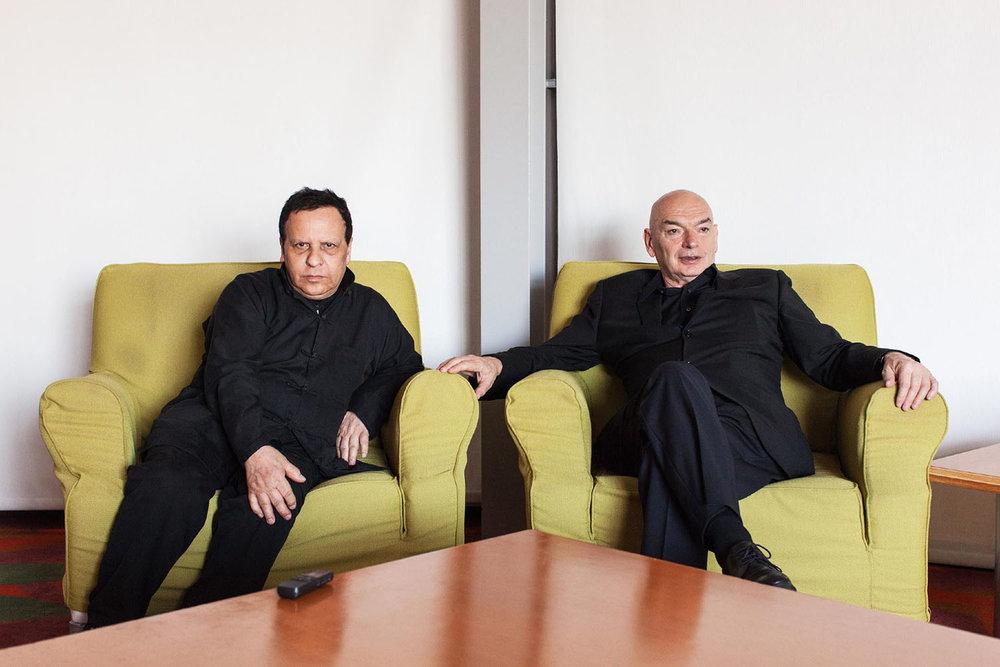 Azzedine Alaia, Designer & Jean Nouvel, Architect, Los Angeles, California, 2013