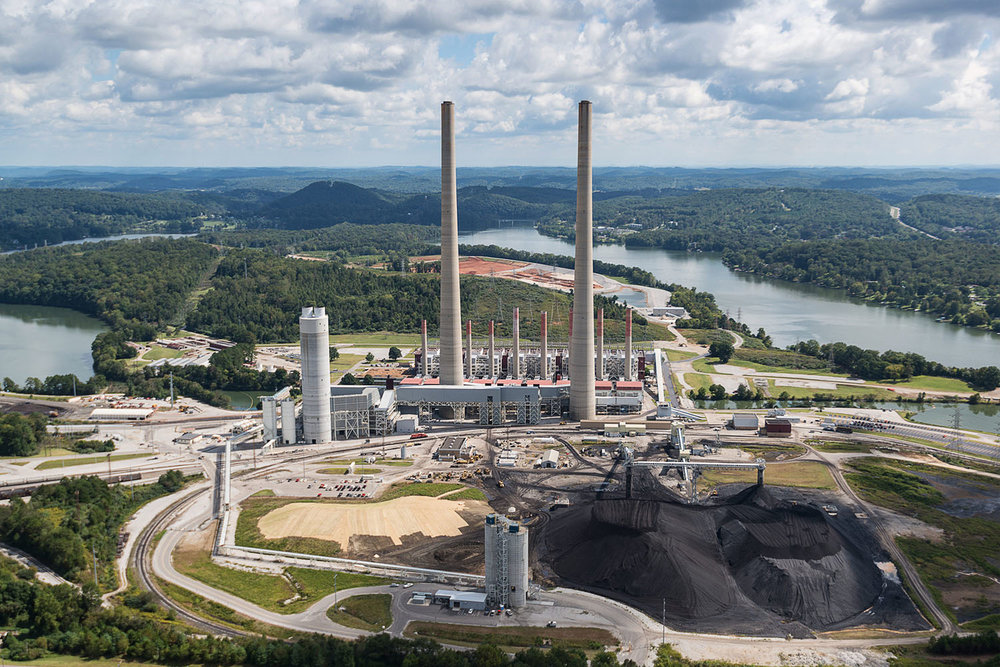 Kingston Fossil Plant, Harriman, Tennessee, 2010