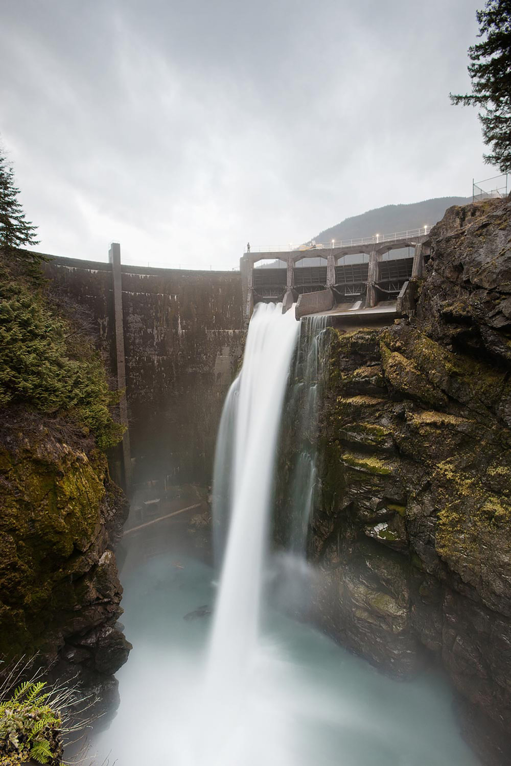 Elwha Dam, Port Angeles, WA, 2011