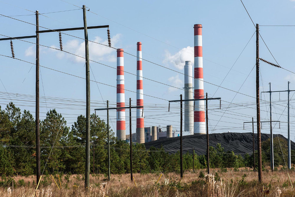 Southern Company's Barry Power Plant in Bucks, Alabama