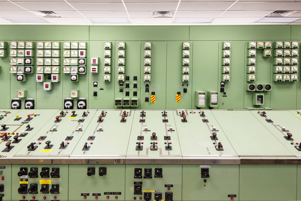 The Norris Dam control room, Tennessee