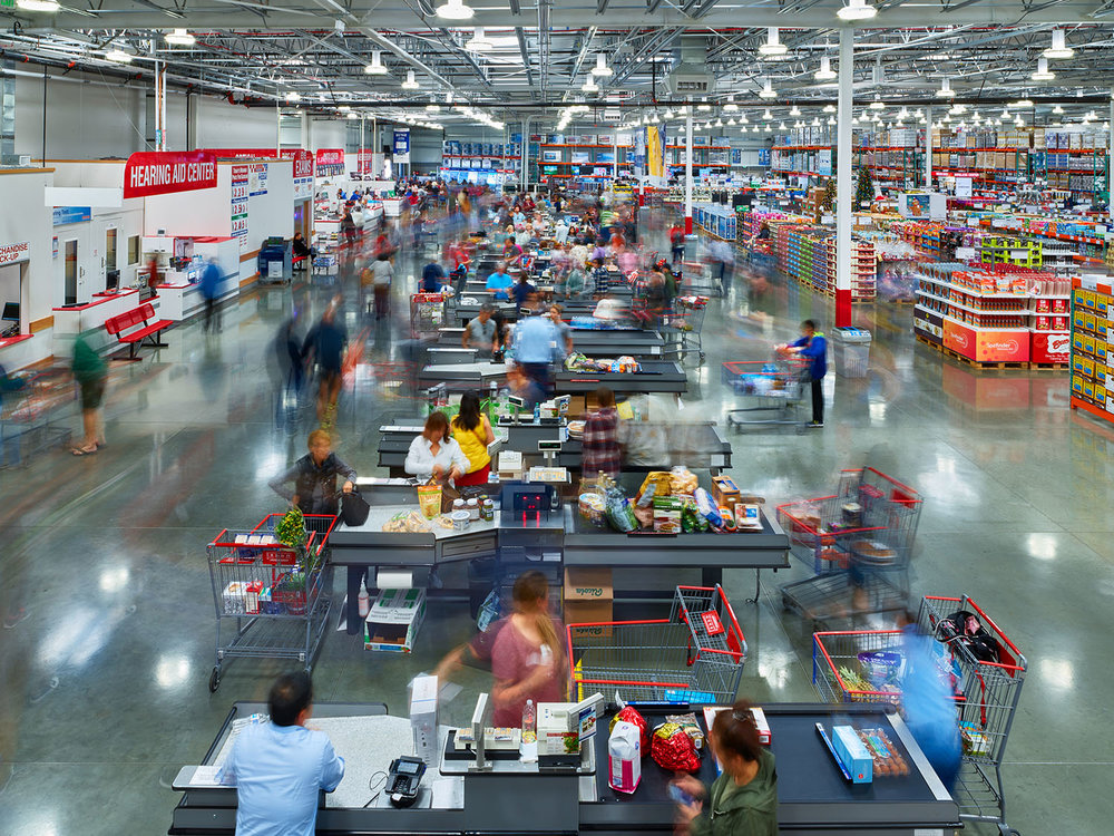 Costco, Torrance, California, 2016