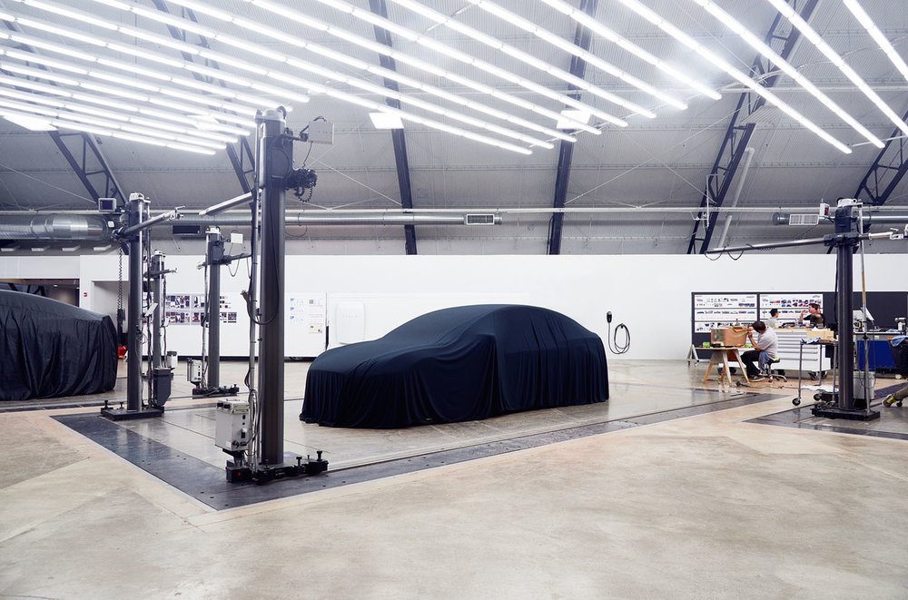 Tesla design studio in Hawthorne, CA