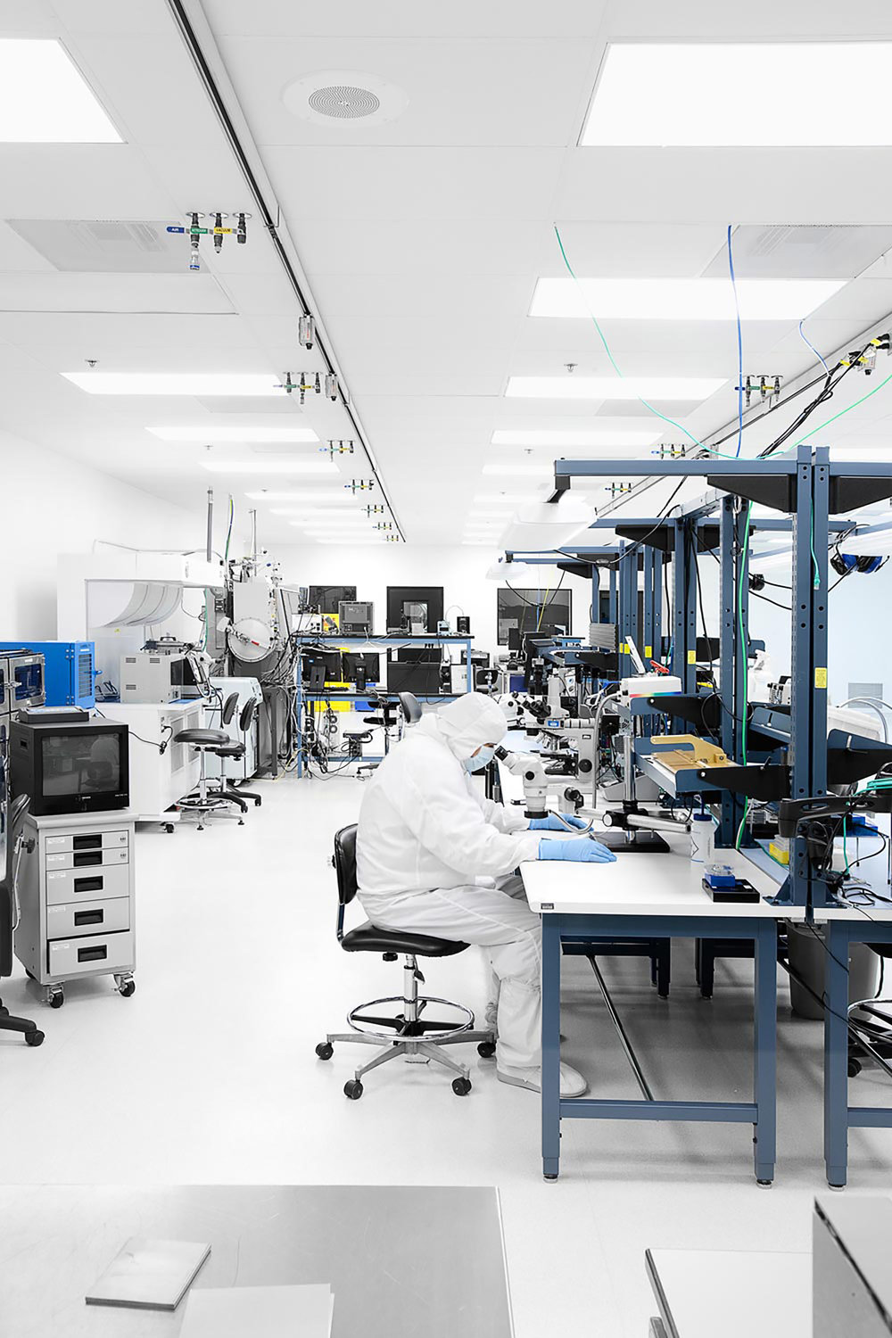Argus II Retinal Implant Lab, Second Sight, Sylmar, California, 2010