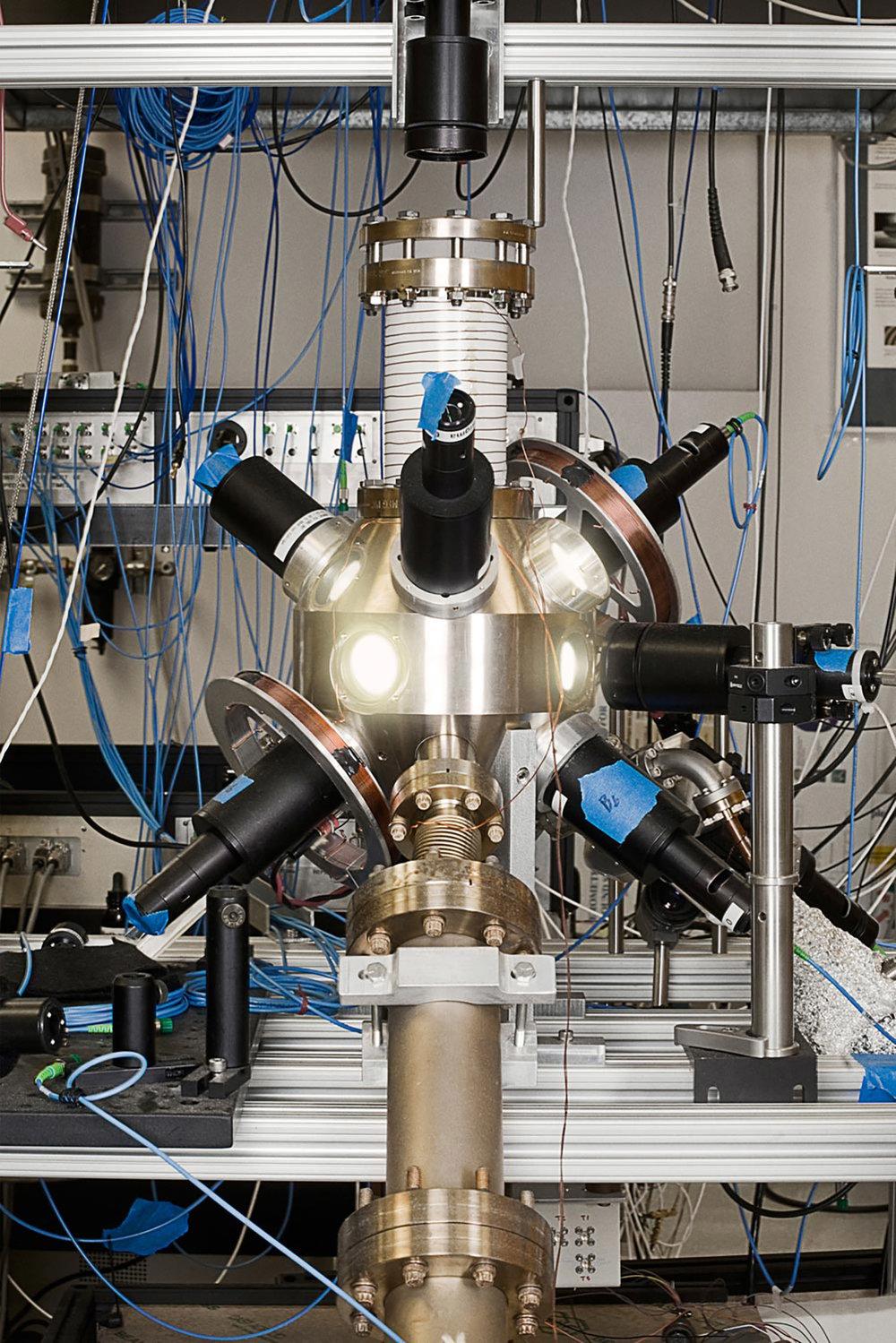 Gravity Gradiometer Prototype, Quantum Lab, NASA/JPL, Pasadena, California, 2008