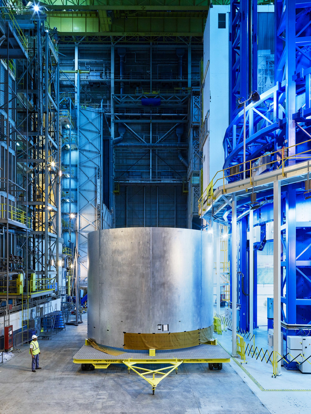 A SLS Rocket Hydrogen Tank, Michoud, New Orleans