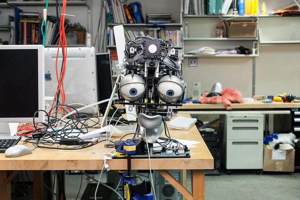 Nexi at MIT's Robotics Labratory