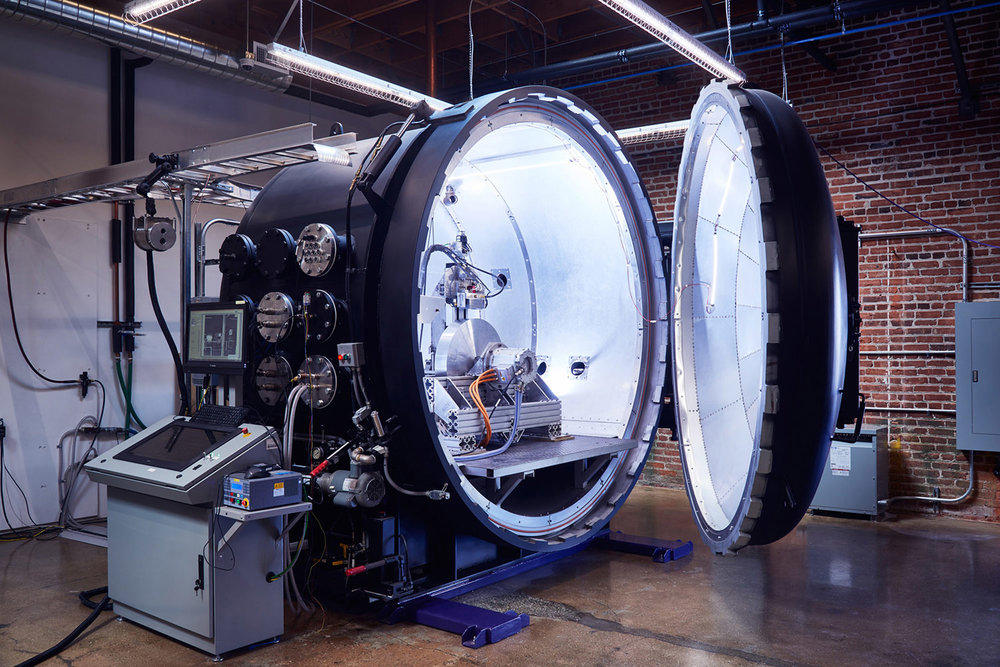 Hyperloop One Levitation Rig, Los Angeles, California, 2015