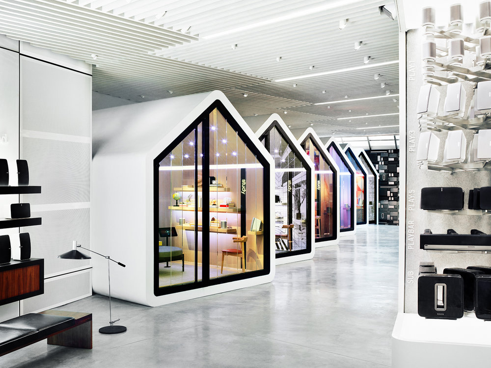 Sonos Store, New York, New York, 2016
