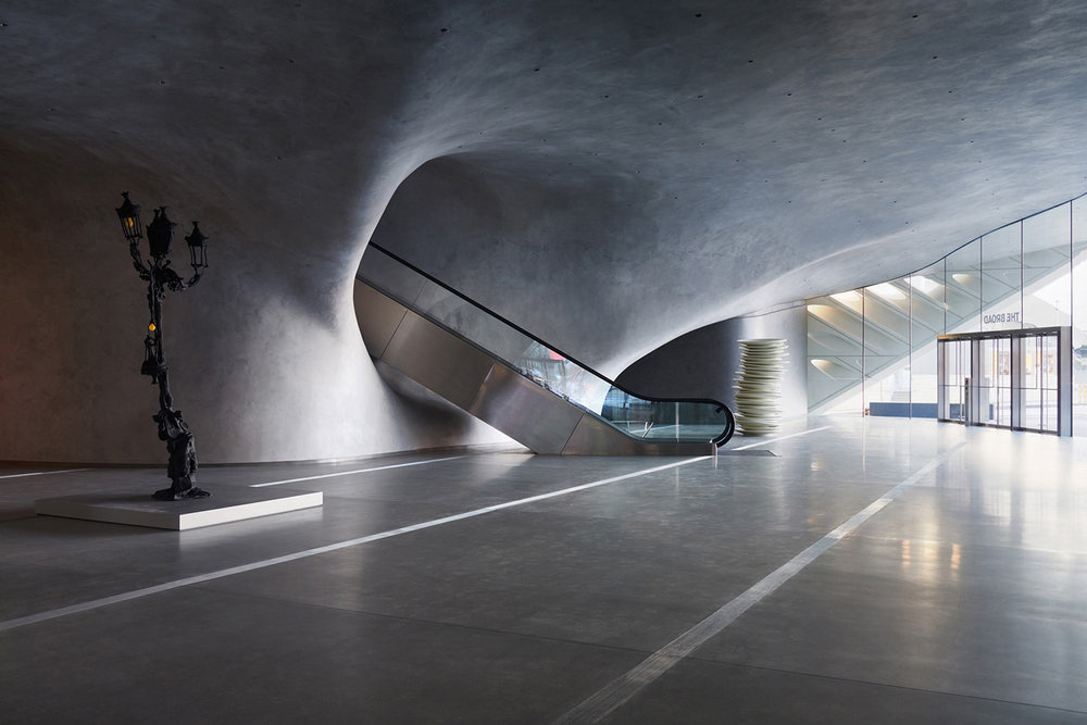 Lobby of the Broad, Los Angeles