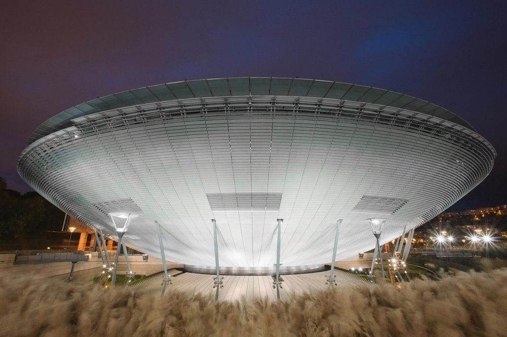 The International City Center of Congress Amphitheatre, Lyon, France, 2008