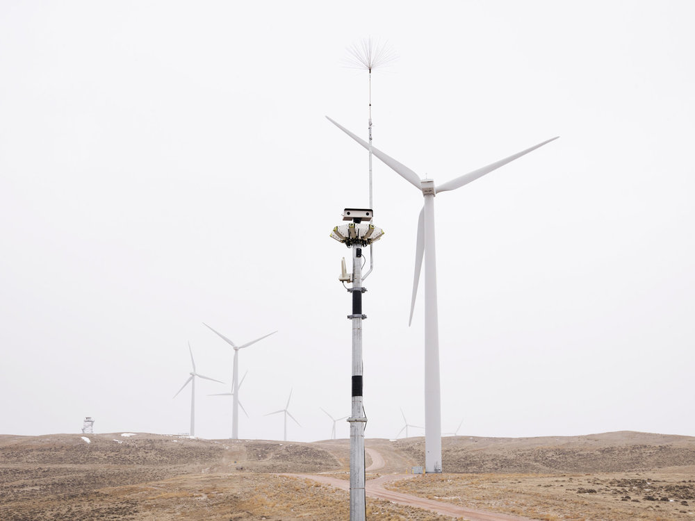 IdentiFlight Raptor Scanner, Top of the World Wind Farm, Casper, Wyoming, 2018