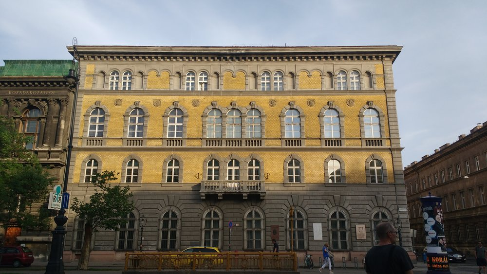 Het Liszt Ferenc Memorial Museum, tegenwoordig de 'oude academie'
