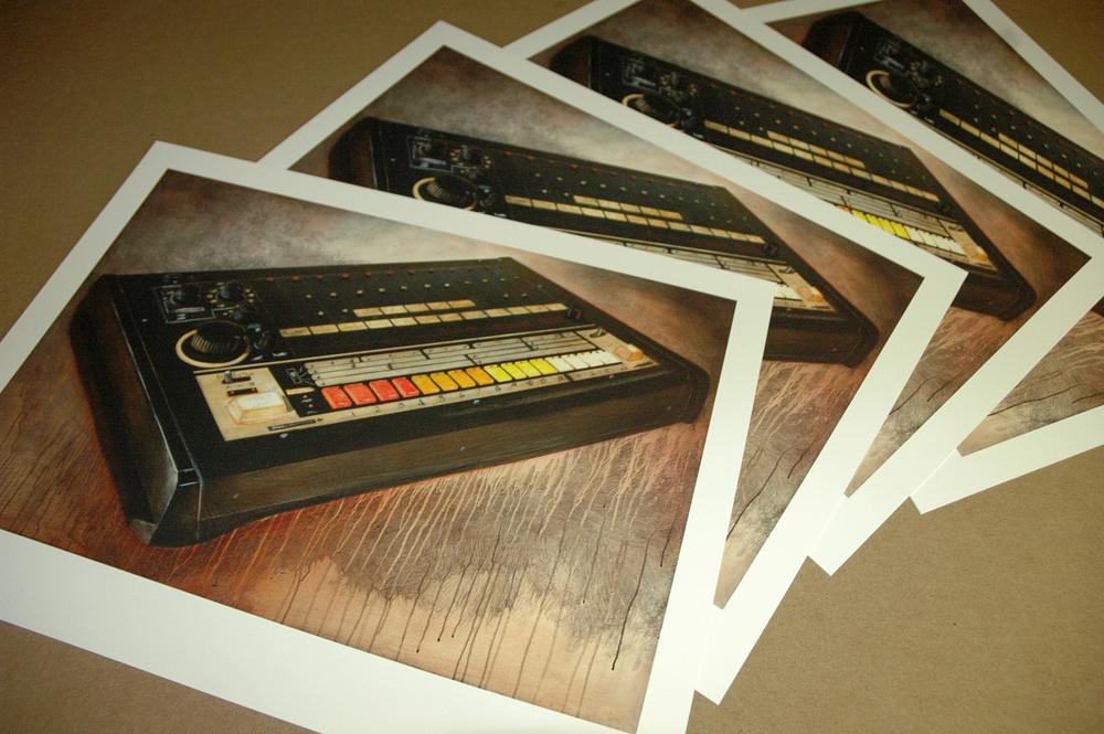 """""""Still Life With Drum Machine"""" by: Ron Zakrin - Detroit, MI"""