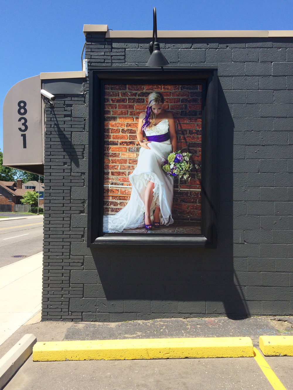 Outdoor Photo Display - Robert Bruce Photography - Royal Oak, MI