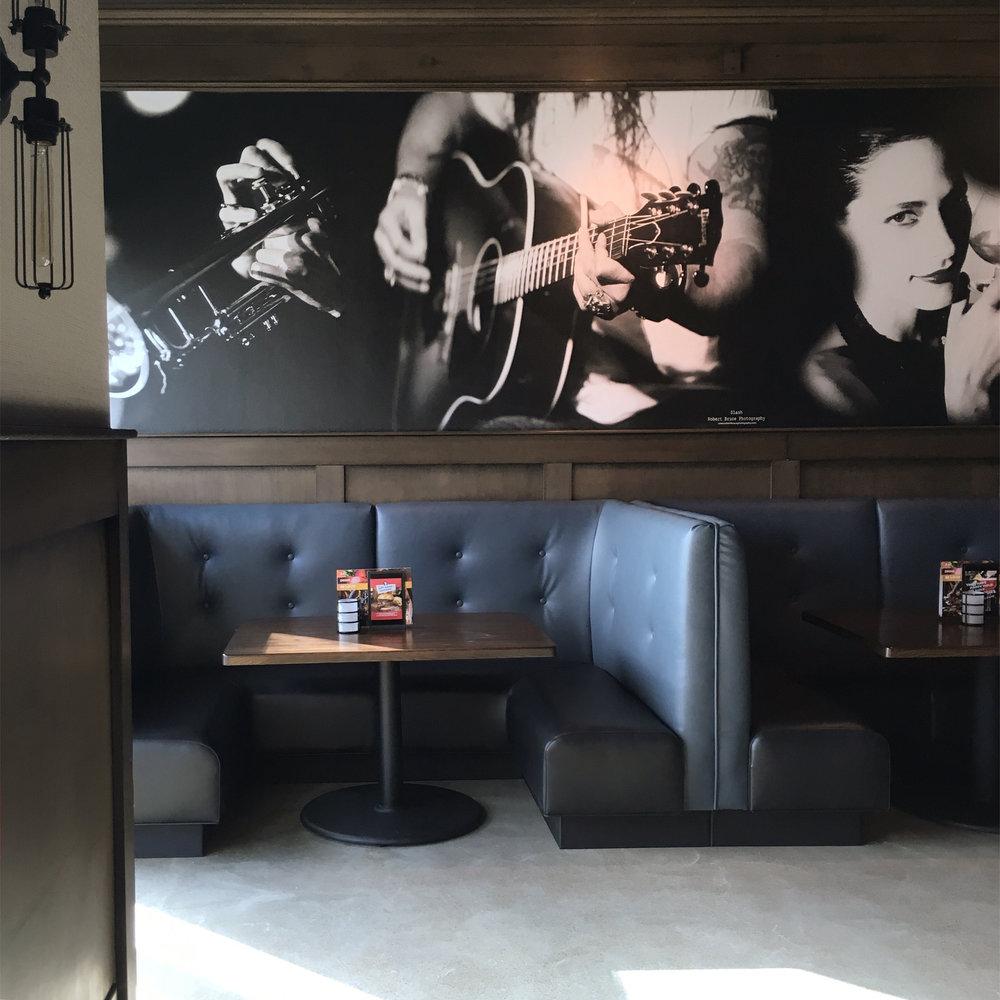 Wall Mural - Robert Bruce Photography - Bar Louie - Royal Oak, MI