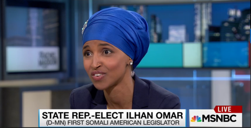 Click here to watch Ilhan's interview with Rachel Maddow.