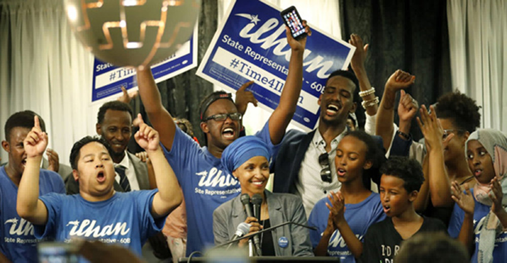 Ilhan wins the Primary - August 2016
