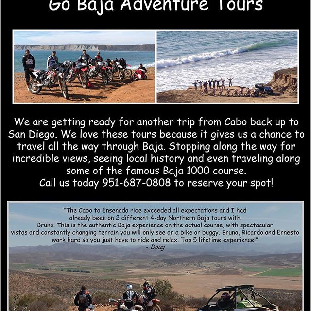 Come join us March 6th for an all inclusive ride back to San Diego.