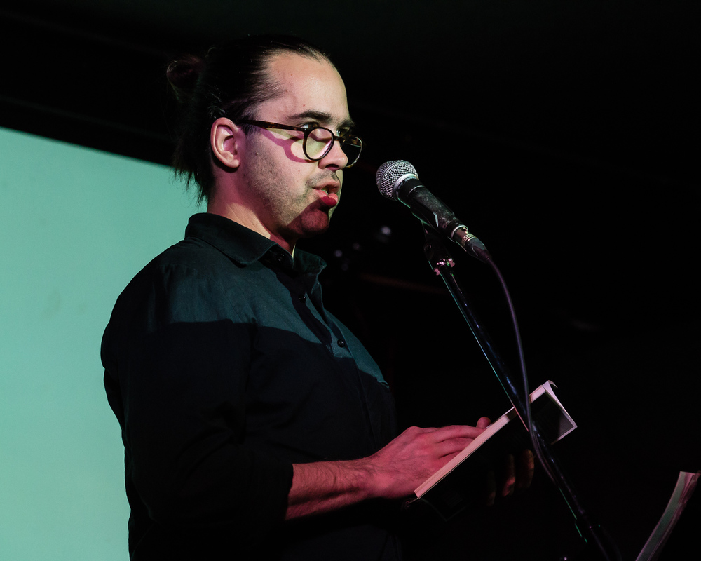 François Turcot reading from My Dinosaur