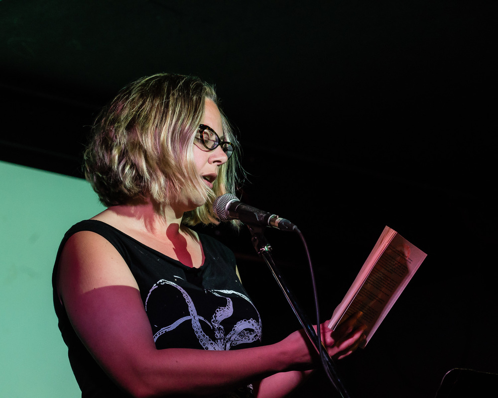 Adrienne Gruber reading from Buoyancy Control