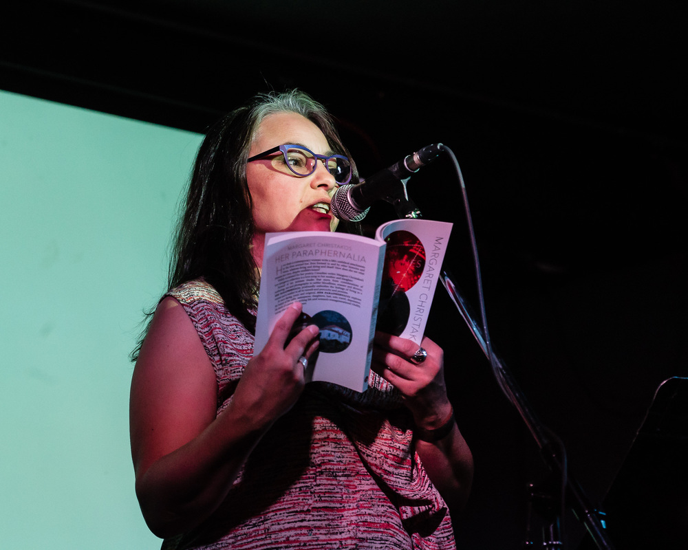 Margaret Christakos reading from Her Paraphenalia