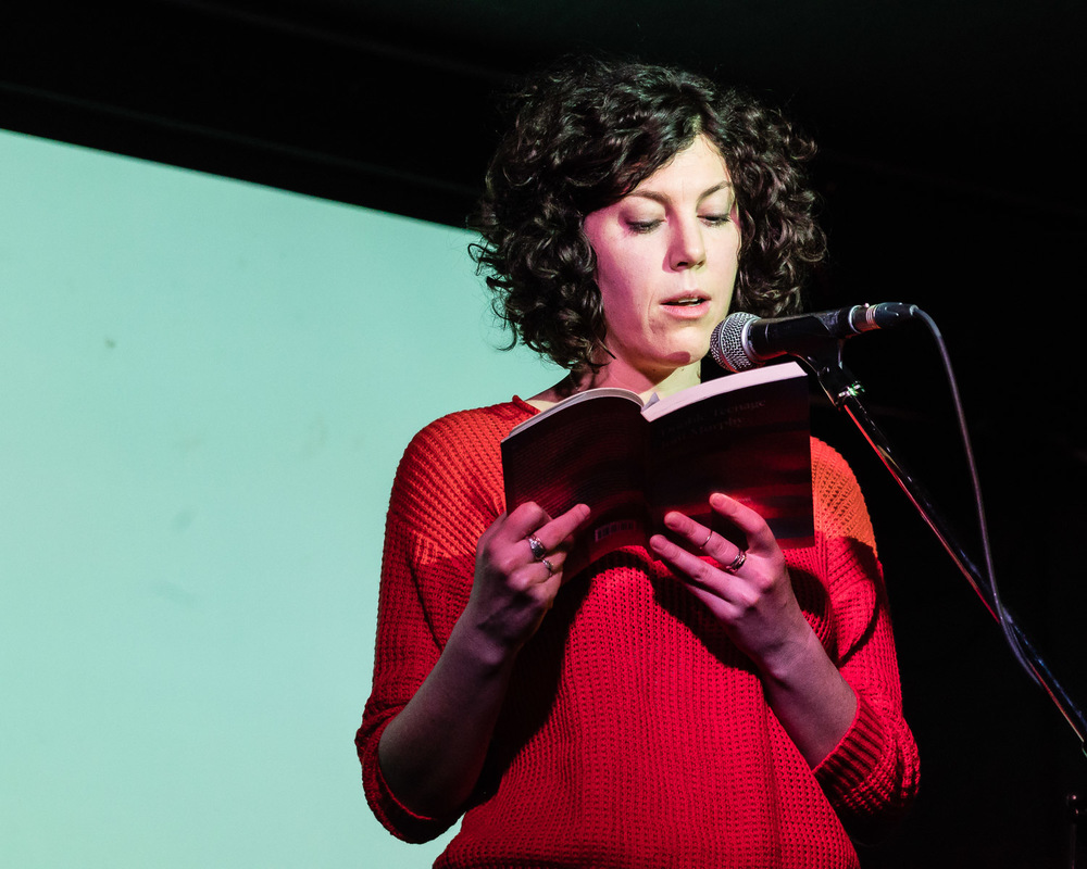 Joni Murphy reading from Double Teenage