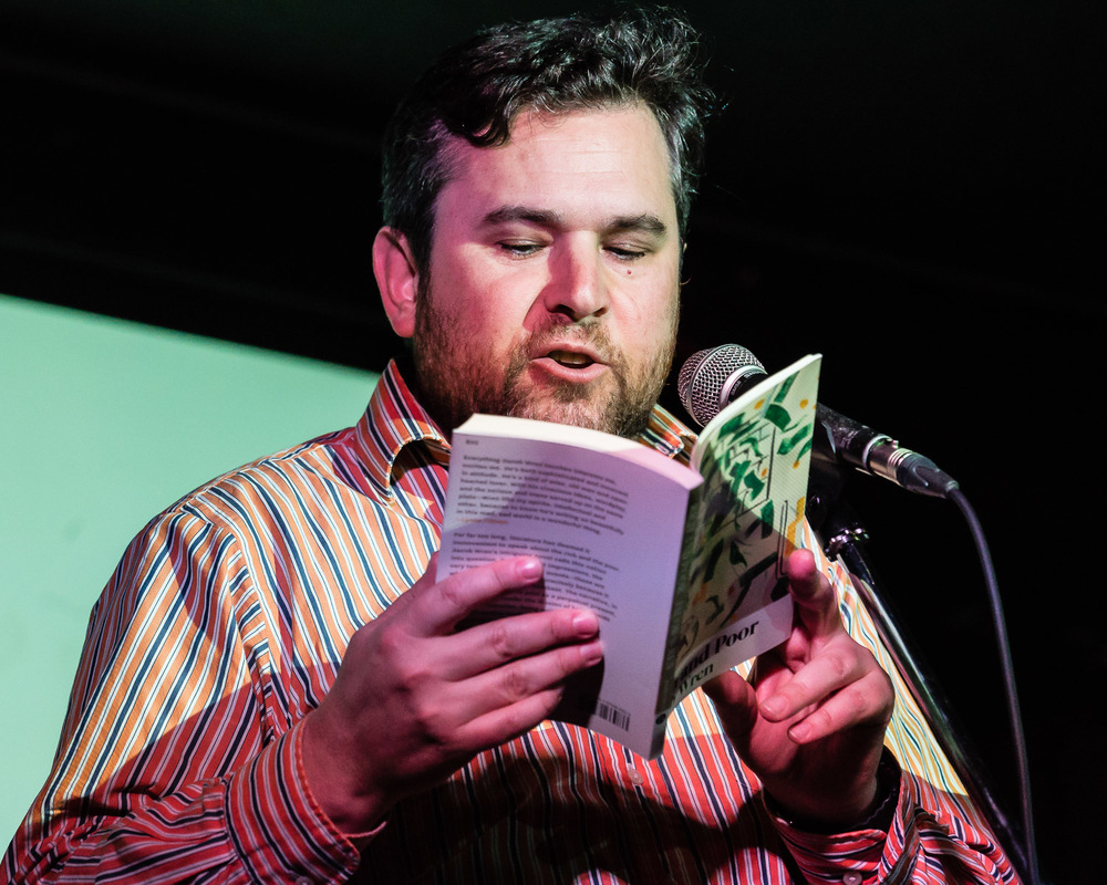 Jacob Wren reading from Rich and Poor