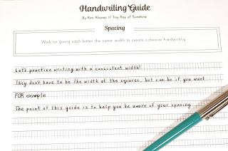 How To Improve Your Everyday Handwriting Free Handwriting
