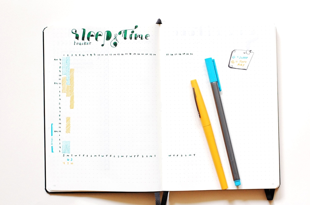 Time Log - Bullet Journal