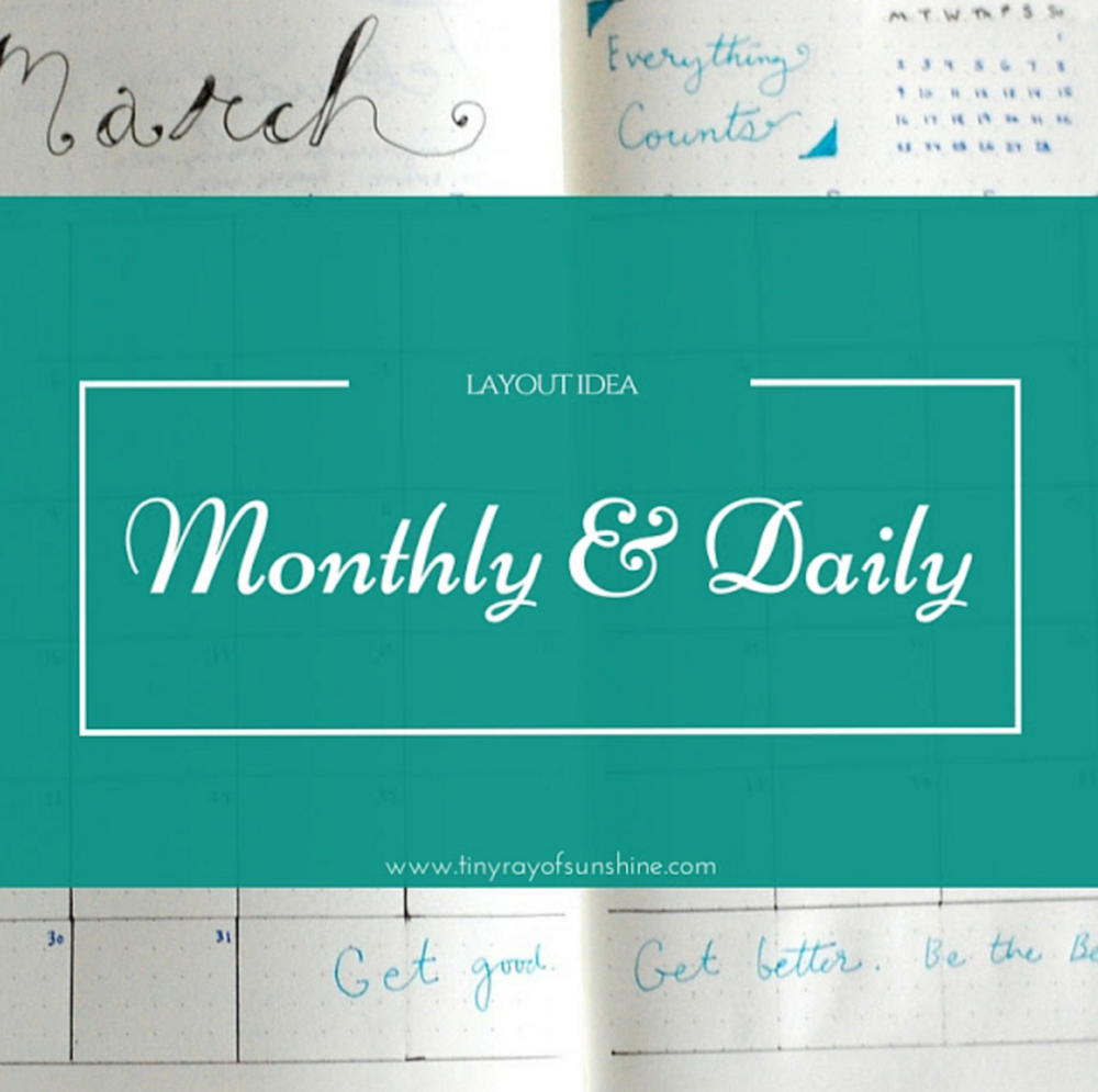 monthly & Daily