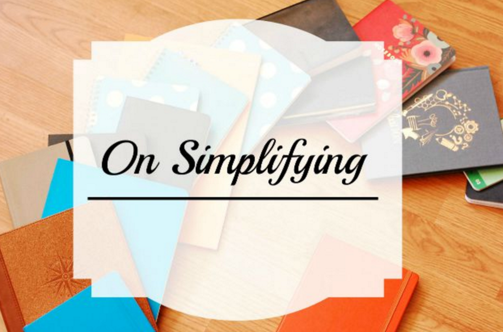 on simplifying