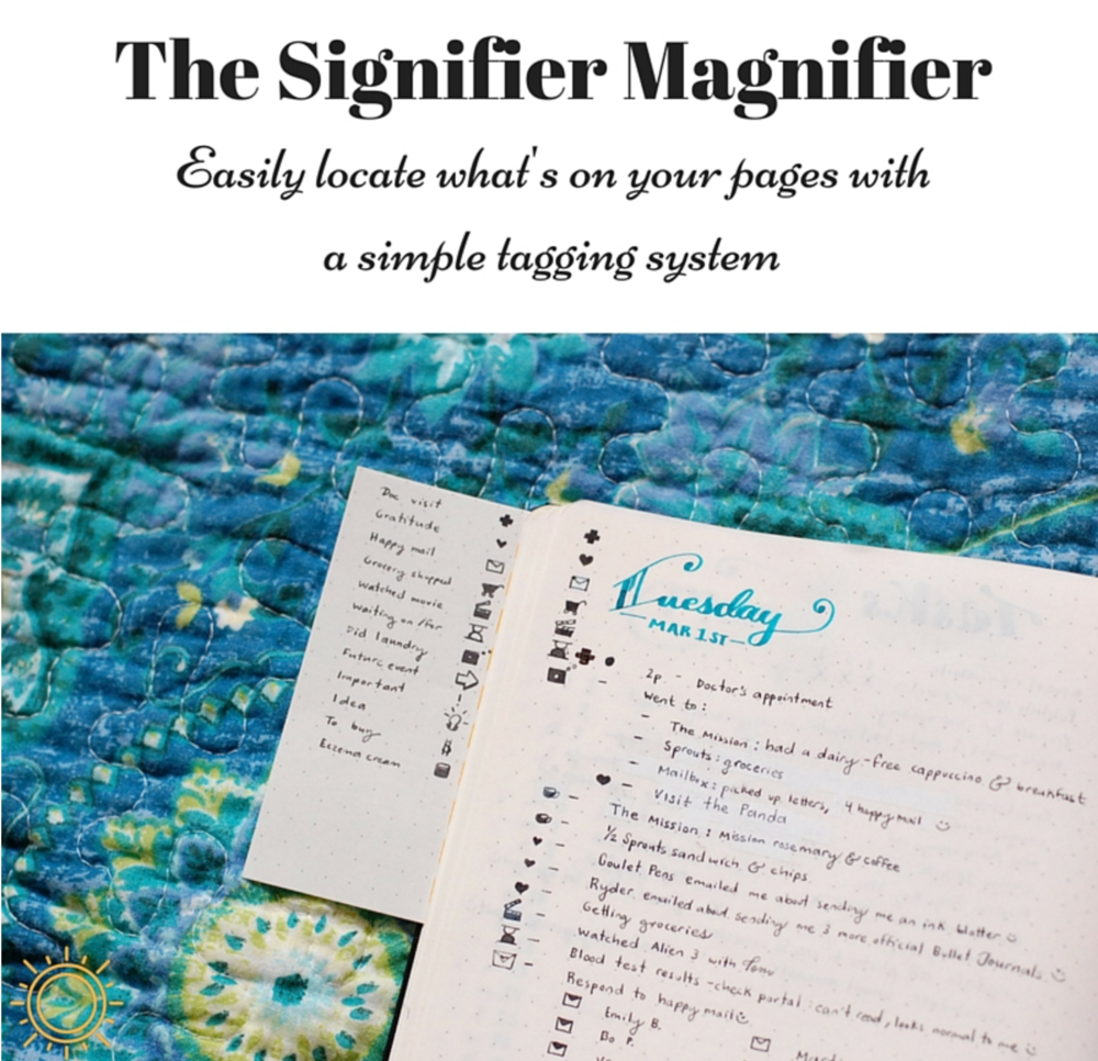 the signifier magnifier