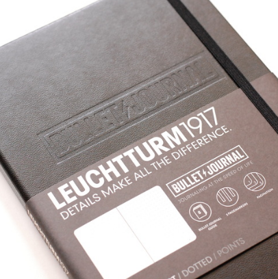official leuchtturm1917 bullet journal notebook review
