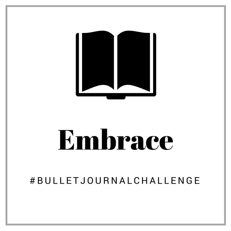 embrace #bulletjournalchallenge