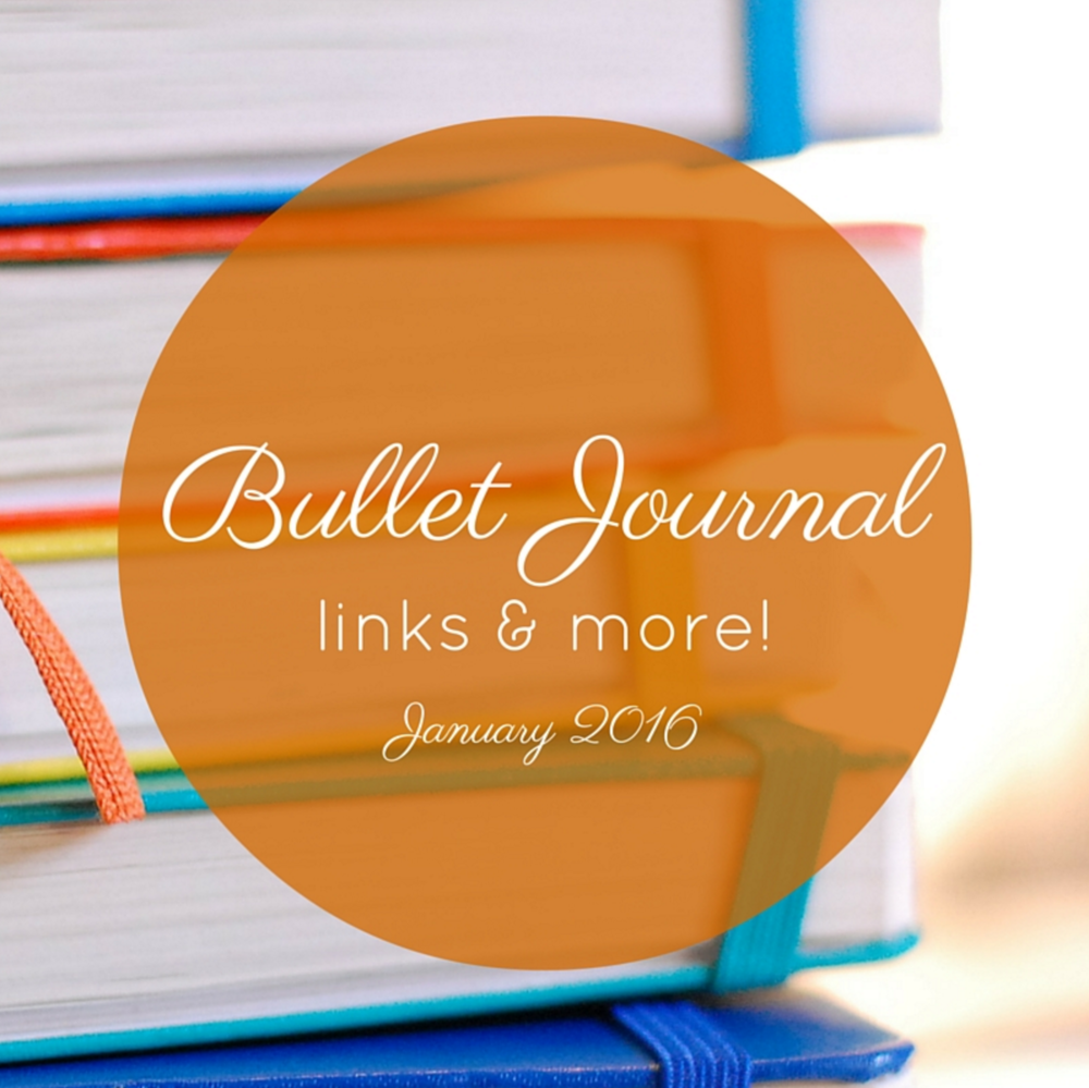 bullet journal links & more | 1