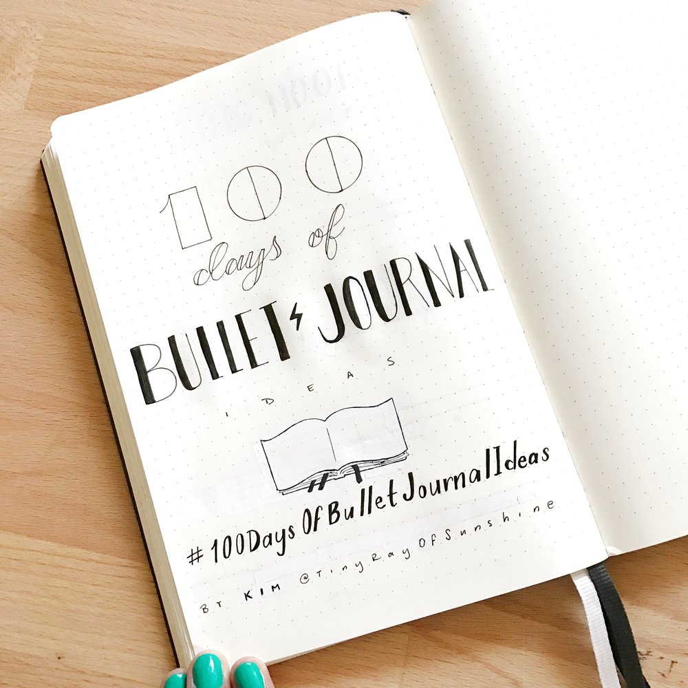 Thorough Guide to the Bullet Journal System — Tiny Ray of Sunshine