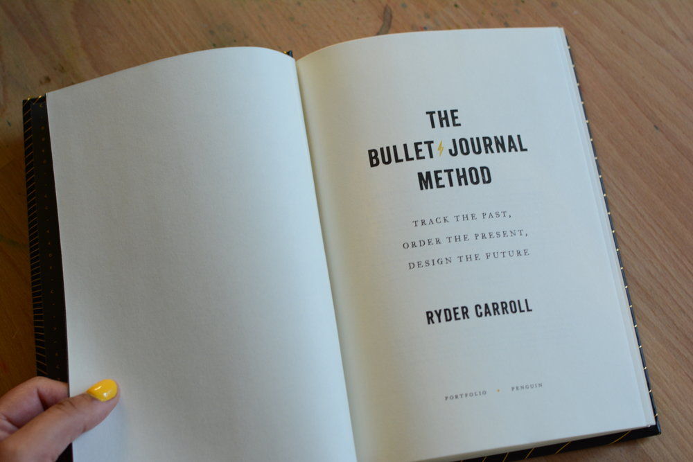 The Bullet Journal Method Book Review and Giveaway. Tiny Ray of Sunshine.22.JPG