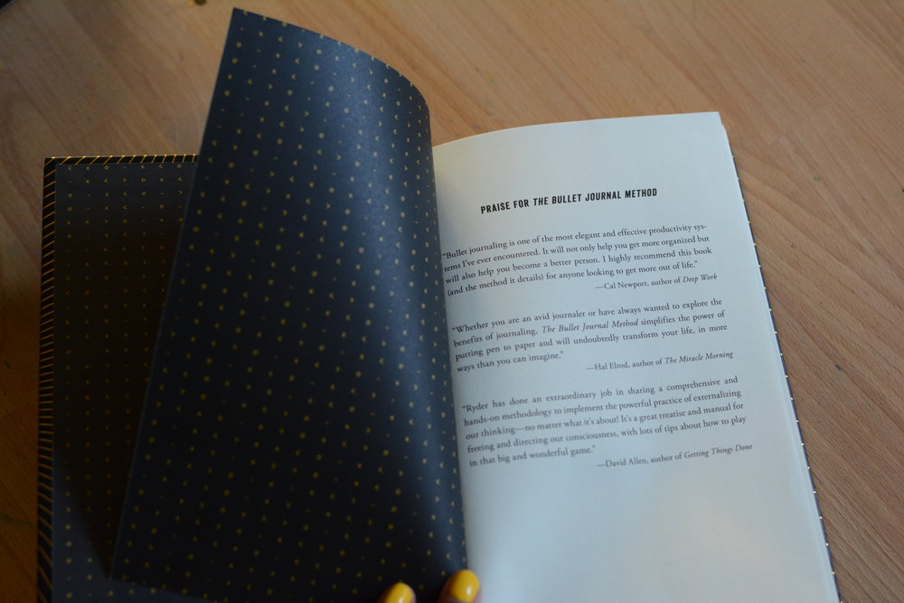 The Bullet Journal Method Book Review and Giveaway. Tiny Ray of Sunshine.20.JPG