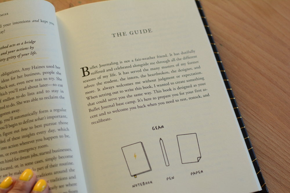 The Bullet Journal Method Book Review and Giveaway. Tiny Ray of Sunshine.31.JPG
