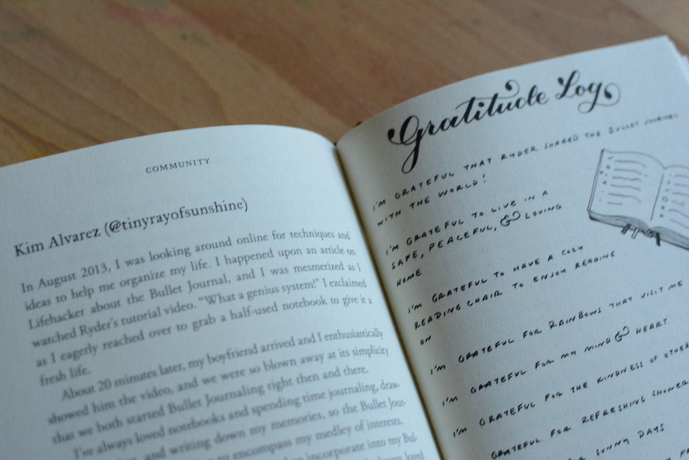 The Bullet Journal Method Book Review and Giveaway. Tiny Ray of Sunshine.47.JPG