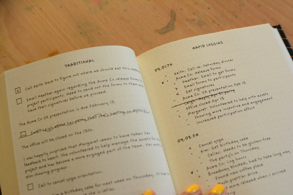 The Bullet Journal Method Book Review and Giveaway. Tiny Ray of Sunshine.39.JPG