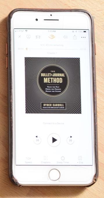 Listen to The Bullet Journal Method - Via Audible!