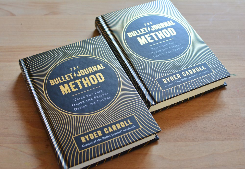 The Bullet Journal Method Giveaway - Ryder is graciously giving away 10 copies of his book to those who can't afford it - please keep that in mind! :)